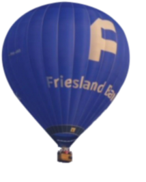 Friesland Bank ballon